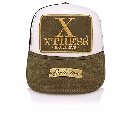 Xtress Exclusive Gorra verde y blanca. Unisex: Amazon.es: Ropa y accesorios