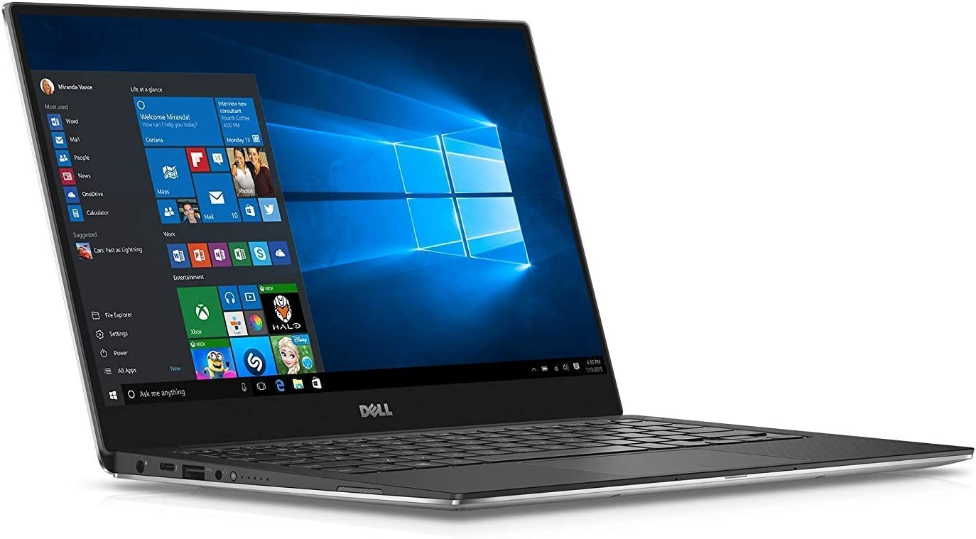Dell XPS 13, 13.3 inch Full HD IPS 2019 Flagship Dell Dell XPS 13 9360 Laptop, Intel Quad-Core i7-8550U up 4GHz, 8GB DDR4, 512GB SSD, BT 4.1 WiFi MaxxAudio Backlit Keyboard Thunderbolt 3 Win 10