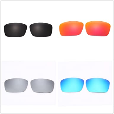 6eedb6df75 Image Unavailable. Image not available for. Color  Set of 4 Polarized  Replacement Lenses for Oakley Fuel Cell Sunglasses NicelyFit