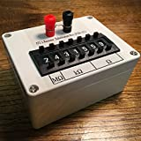 Seven Decade Resistor Substitution Box, 0.1% 0 ohm to 9.999999 Mohm