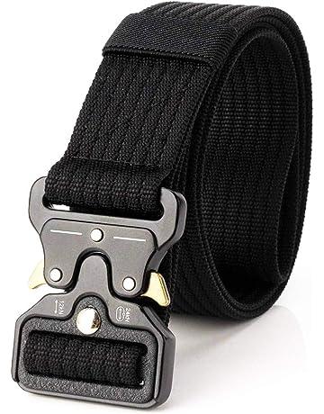 Nai-style Cinturón Web táctico Cinturón de Nylon de cinturón de Seguridad de liberación rápida