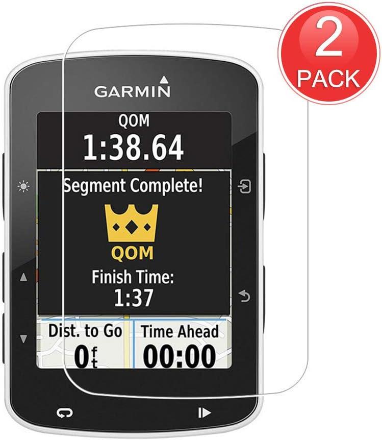 X-Dision [2-Pack Protector de Pantalla Compatible con Garmin Edge 820,Vidrio Templado 9H, Película Protectora Premium 2.5D,[Instalación Sin Burbujas][Resistente a los Arañazos]: Amazon.es: Electrónica