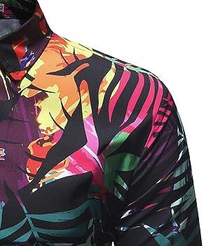 Blusa Impresa para Hombre de la Manera Camisas Ocasionales de ...