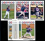 Texas Rangers Baseball Cards - 6 Years Of Topps Team Sets 2004,2005,2006,2007, 2008 & 2009 - Includes ALL regular issue Topps Cards For 6 Years - Includes Stars, Rookie Cards & More!