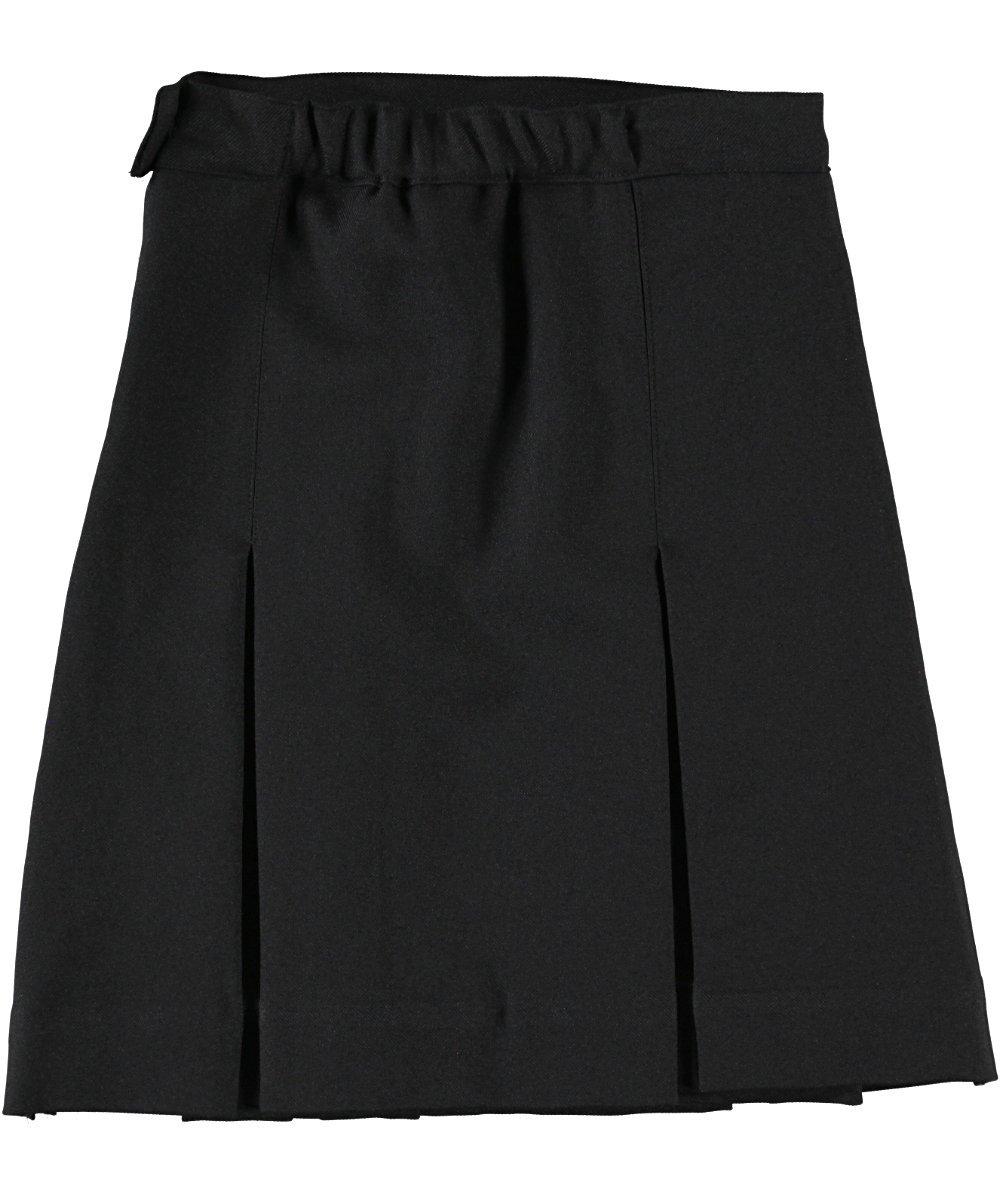 Cookie's Brand Big Girls' Box Pleat Skirt - black, 12