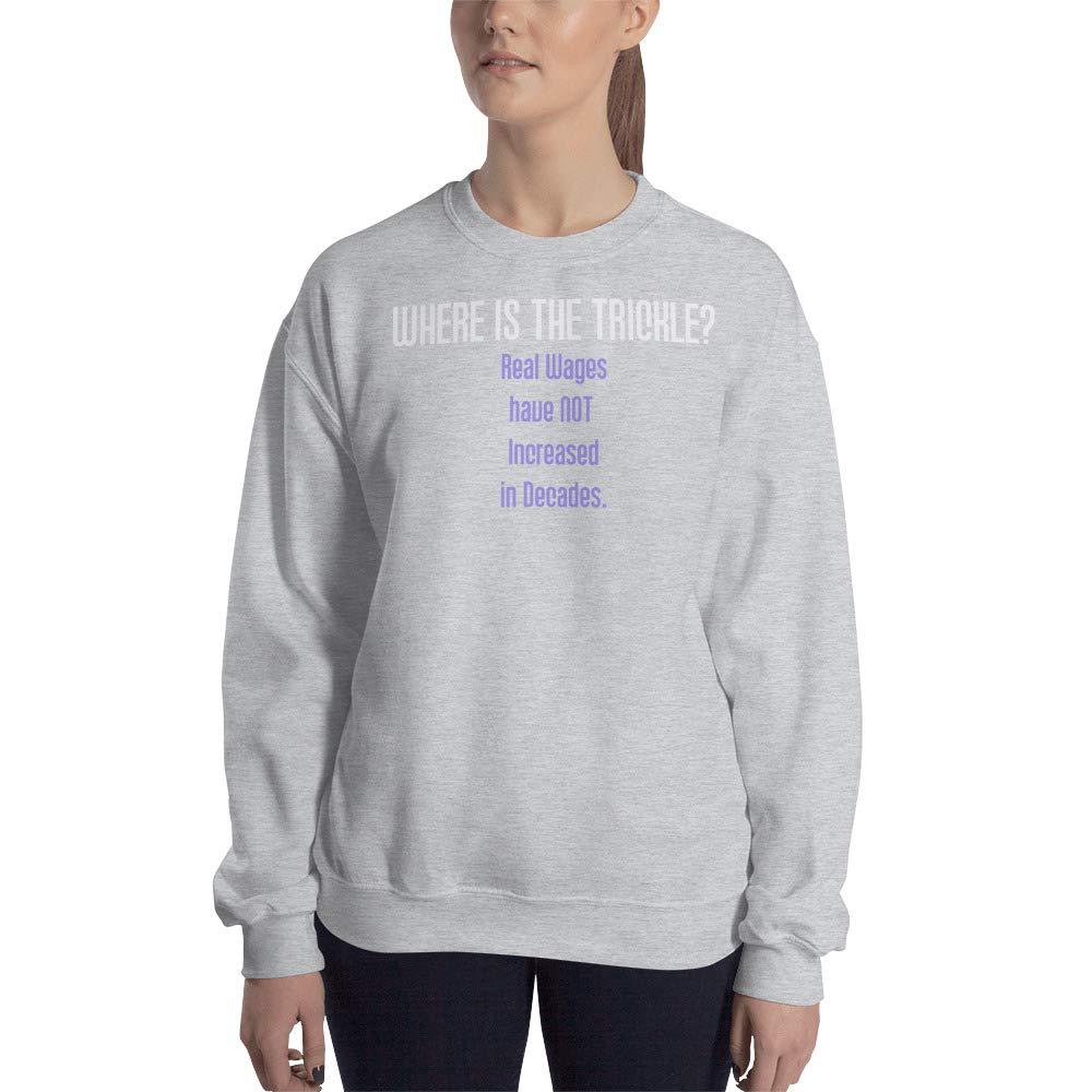 STFND Where is The Trickle Sweatshirt Sport Grey