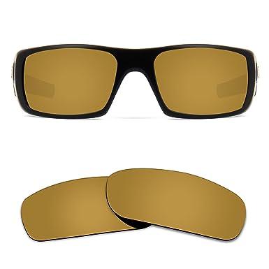 Kygear Polarized Corrected Replacement Lenses for Oakley Crankshaft Various  Colors (Antique Bronze - Polarized)