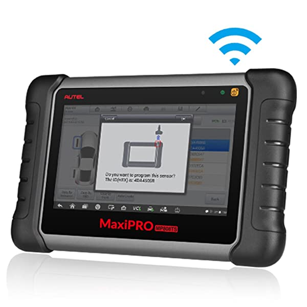 Another impressive feature of the Autel Maxi Pro MP808TS is the tons of data it provides.