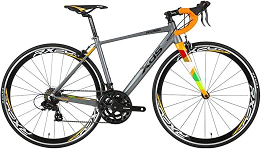 NENGGE 14 Velocidades Bicicleta de Carretera, 700 * 25C ...
