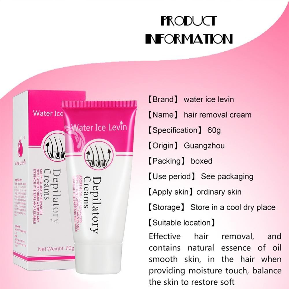 Depilatory cream - description, principle of action