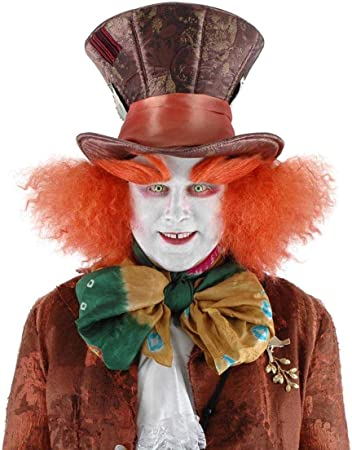 The Disney Movie Alice In Wonderland Mad Hatter Character Hat Accessory COSTUME