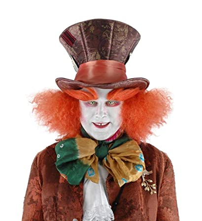 68bfa81d581 Amazon.com  Elope Disney Mad Hatter Costume Eyebrows for Adults  Clothing