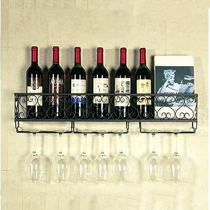 FPigSHS Armarios para Vino Botelleros Soporte de Vidrio para ...