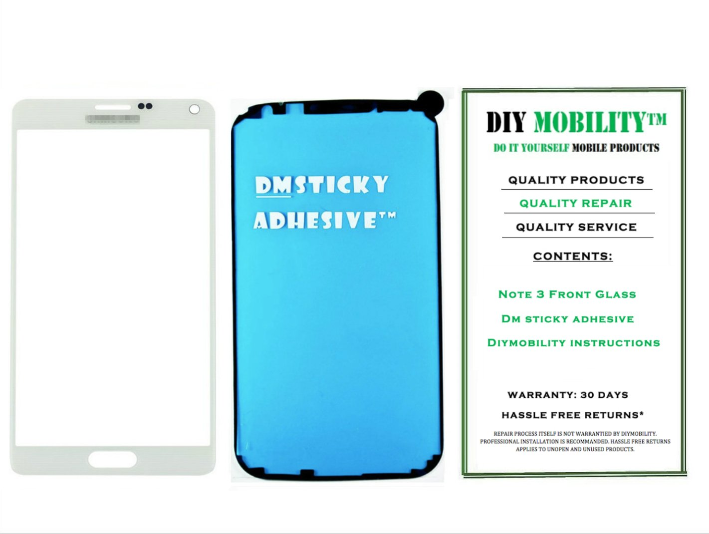 lovely Samsung Galaxy Note 3 WHITE Replacement Glass Screen with Adhesive N900 N9000 N9005 N900V N900P N900A N900T