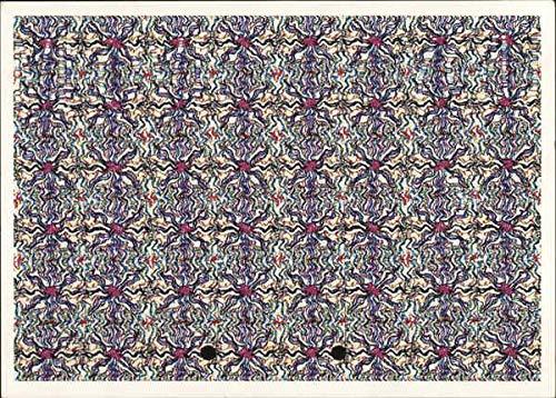 Stare-R-O 3-D Optical Illusion Cards Magic Eye Other Novelty Original Vintage Postcard
