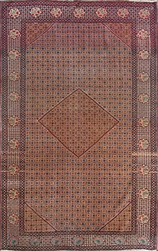 Rug Source Pre-1900 Antique 7x11 Bidjar Senneh Handmade Persian Area Rug (10' 8'' x 6' 8'')