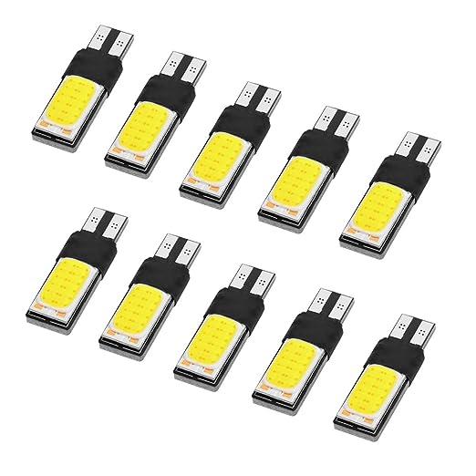 2 opinioni per XCSOURCE 10pcs T10 / 194 / W5W COB 24 SMD lampadine LED DC12V 6000K sostituzione