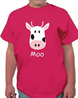 aceea388 Animal World Dairy Cow Pattern All Over Toddler T Shirt Multi 6T ...
