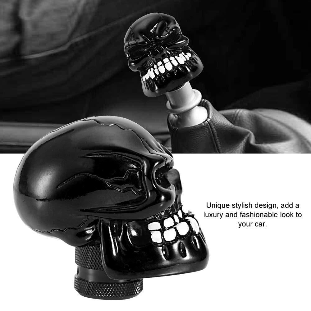Schaltknauf Lila Skeleton Skull Head Car Modified Schaltknauf Stick Lever Shifter Universal