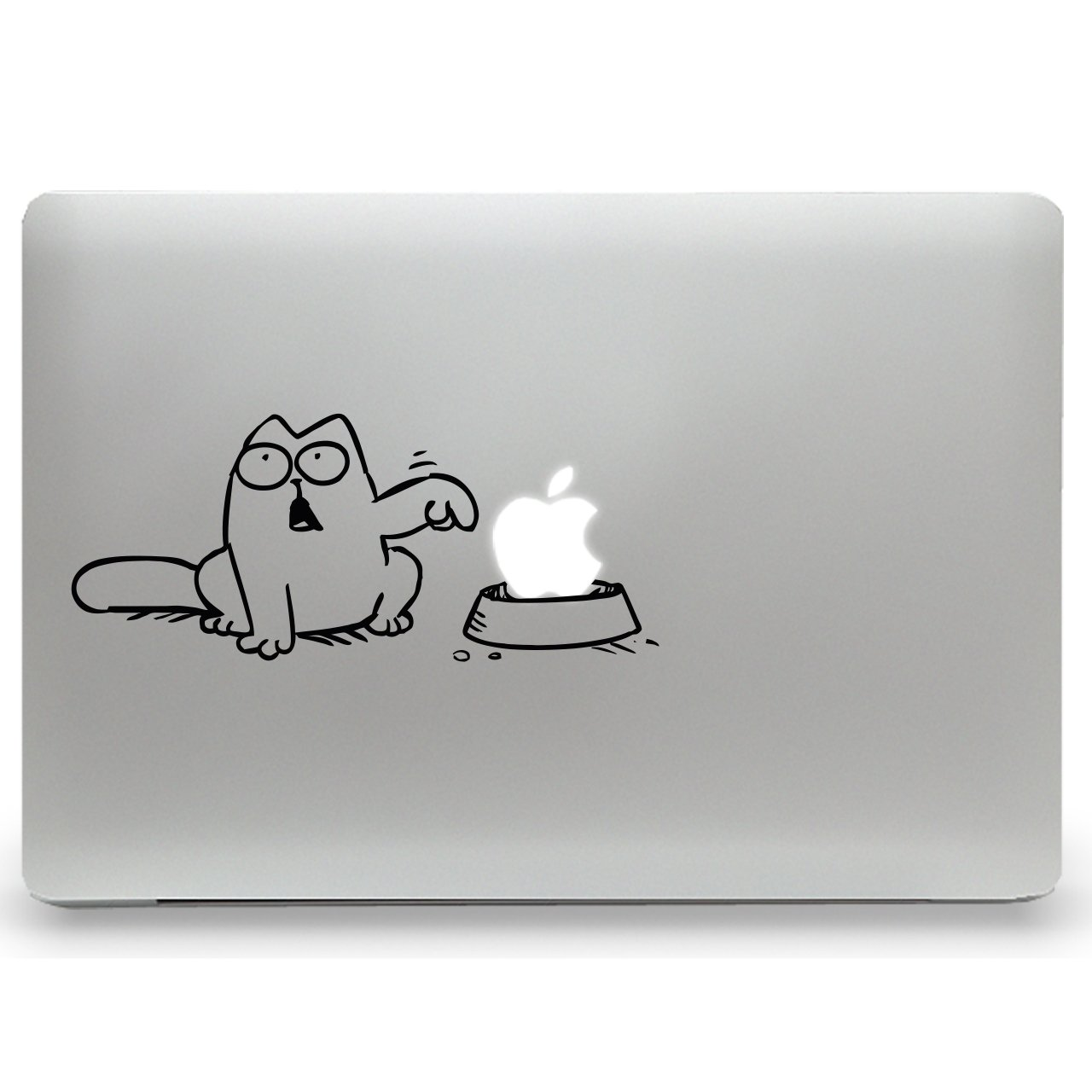Simon's Cat - Aufkleber für MacBook Air und MacBook Pro