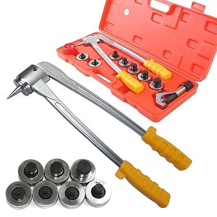 Z&Y Kit de herramientas de expansión 7 expansor de tubo usado para aire acondicionado de refrigeración