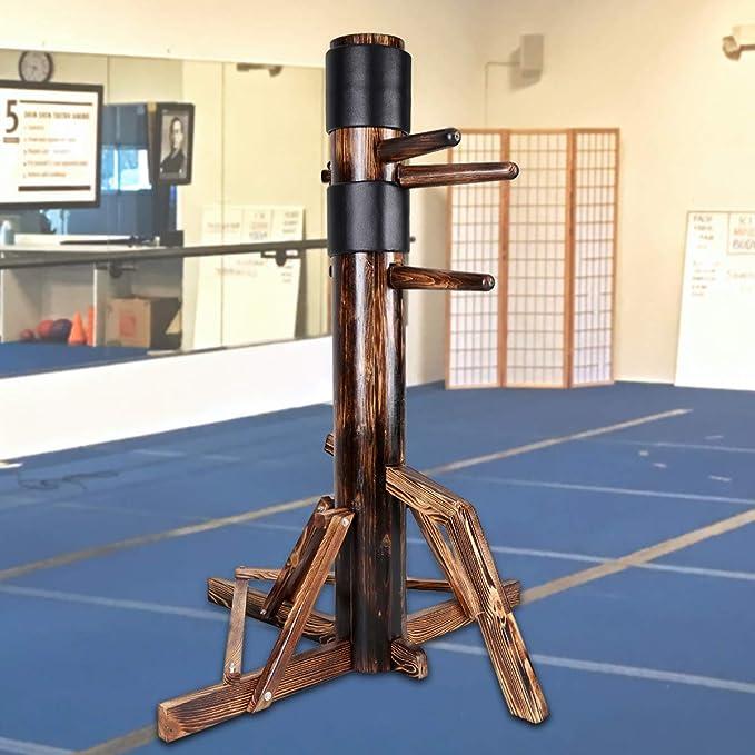 2x Wing Chun Wing Tsun Ip Man Wooden Dummy Mook Jong Head Kungfu PU Protect Pads