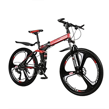 GOUTUIZI Plegable Velocidad Variable Bicicleta Montaña Bici,24 ...