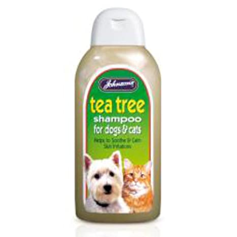 Johnsons Tea Tree Champú para perros y gatos 400 ml 600 g – Bulk de