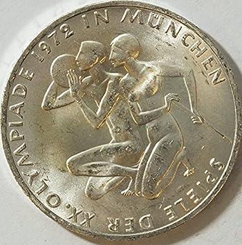 Brd Brdeutschland Jägernr 403 1972 F Vorzüglich Silber 1972 10