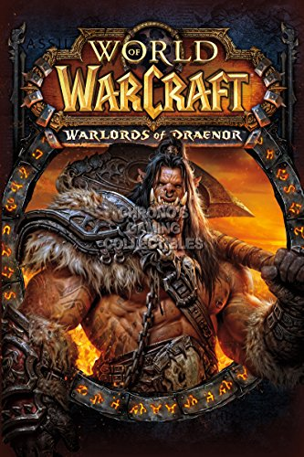 CGC Huge Poster - World of Warcraft Warlords of Draenor BOX ART PC - EXT181 (24