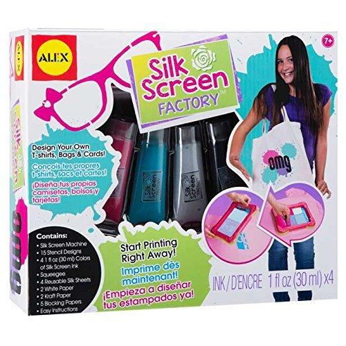 Alex Toys Do-it-Yourself Wear Silkscreen Factory by Alex