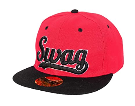 Krystle Devil Red Black Swag Hip Hop Snapback Cap  Amazon.in ... 3f8a7152a81