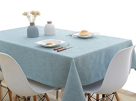 DUKEMG Mantel de Cocina Mantel de algodón Mantel Mesa de Centro ...