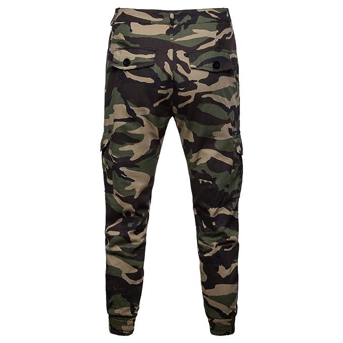 Bestow-pantalones de Entrenamiento de Camuflaje para Hombres Bolsillo Casual  Trabajo Deportivo Pantalones de pantalón Casual  Amazon.es  Ropa y  accesorios 9e40c996061d