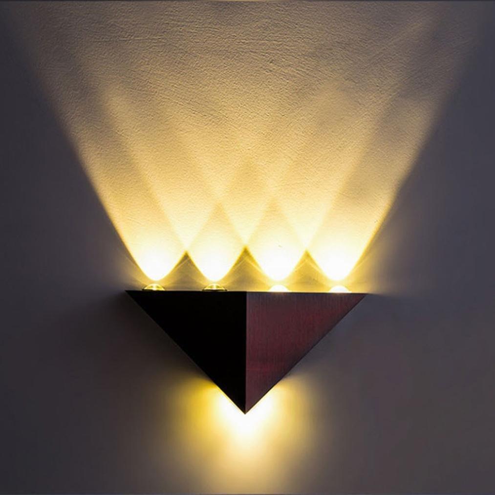 DDLBiz Modern 5W LED Wall Sconce Light Fixture Wall Lamp Spot Light Decorative Lighting (C)