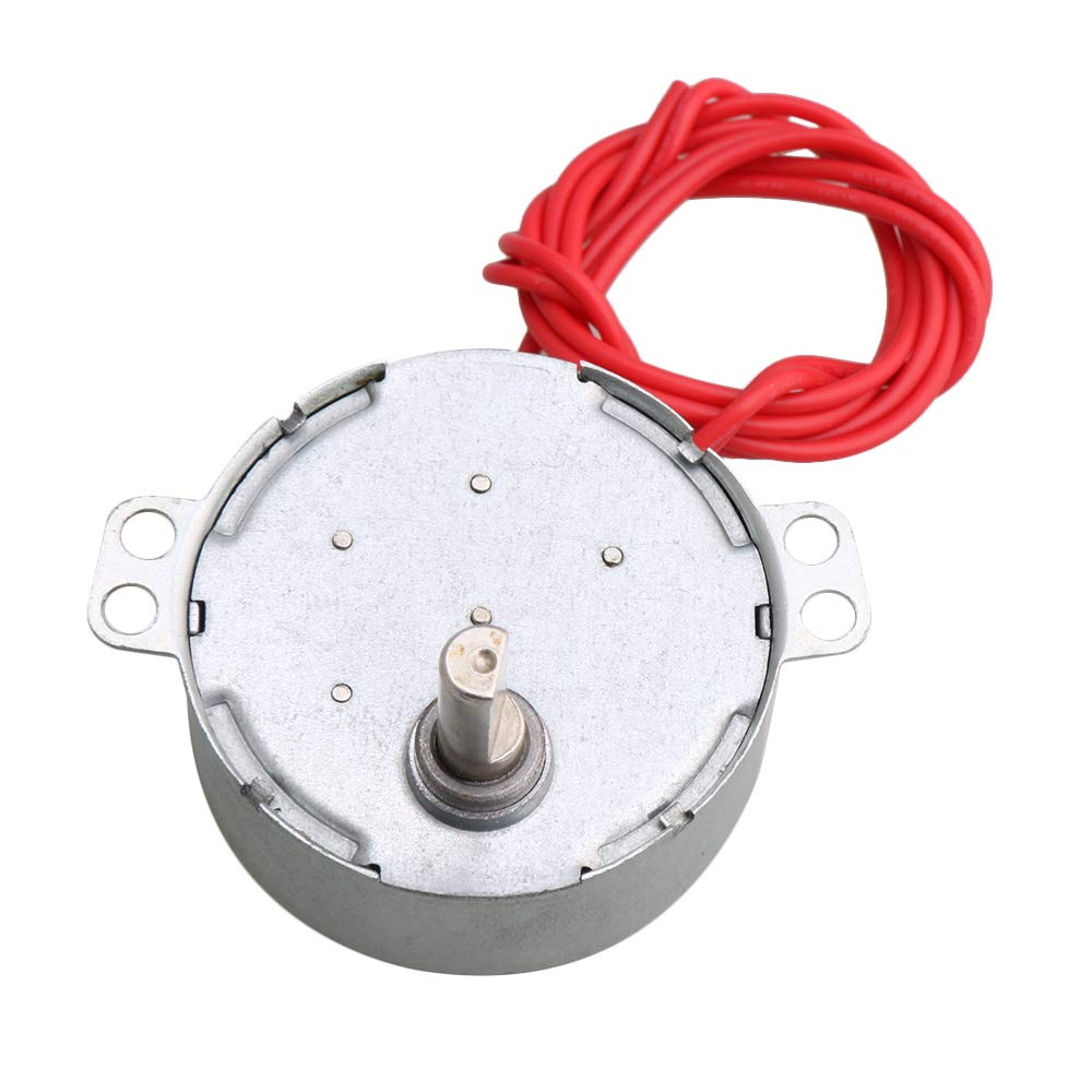 CNBTR Replacement Synchronous Motor for DIY Craft Project CW/CCW AC 12V 4w 0.8-1rpm Speed yqltd