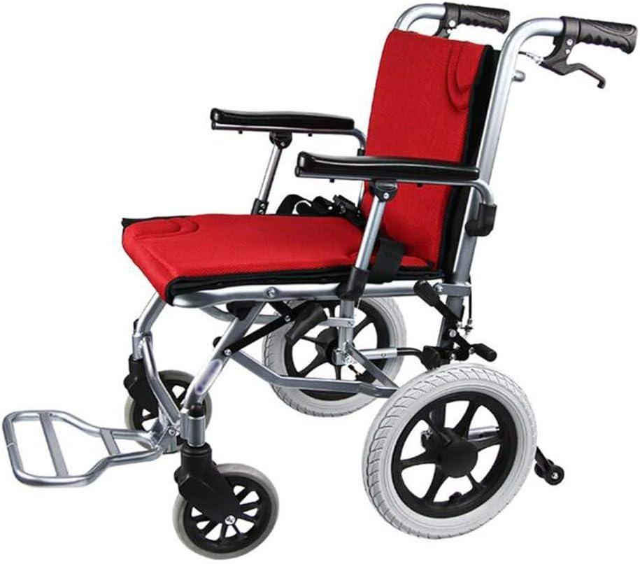 Drive Medical Ancianos Discapacitados Silla de Ruedas Plegable Cómodo Apoyabrazos Brazos Y Patas de Elevación para Descansar Aluminio Ancianos Discapacitados Accesible para Sillas de Ruedas para Disc