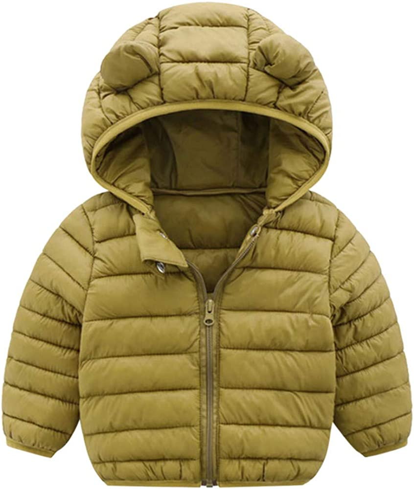 Suma-ma Winter Windbreaker Coats Kid Hoodie Outwear Puffer Jacket Baby Toddler