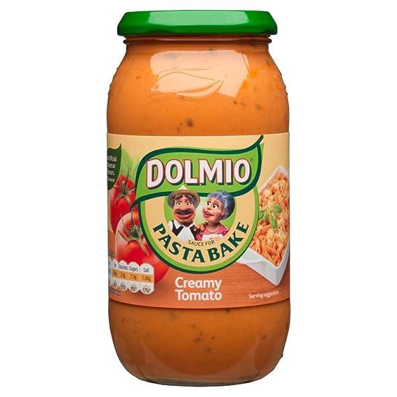 Dolmio - Salsa de tomate cremosa para pasta - Bote de 500 g