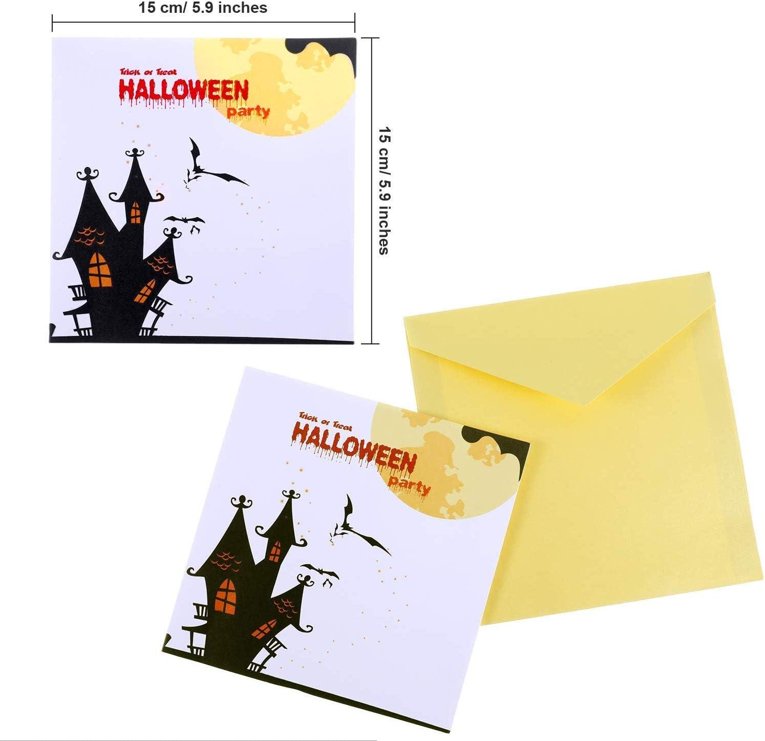 3D Paper Pop-Up Greeting Card *Halloween*Pumpkin*Ghost Night* US STOCK