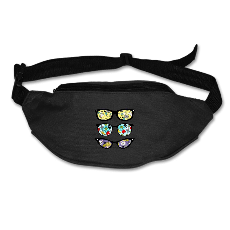 SEVTNY Waist Bag Funny-sunglasses Fanny Pack Stealth Travel bum Bags Running Pocket For Men Women