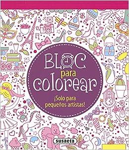 Bloc para colorear