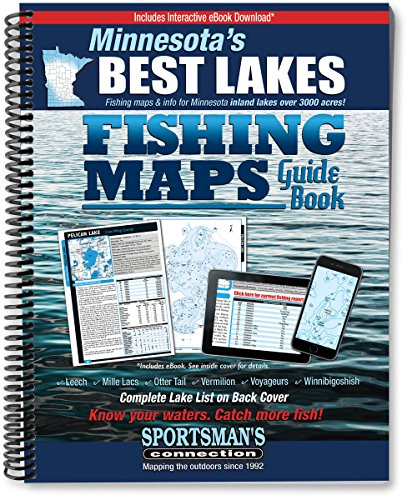 Minnesota's Best Lakes Fishing Maps Guide Book