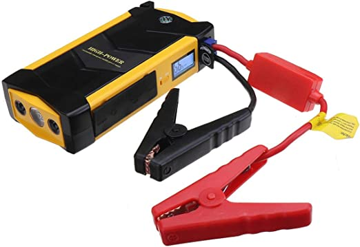 82800mAh 4 USB Power Bank Portable Car Jump Starter Pack Booster Battery Charger