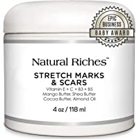 Natural Riches Stretch Marks & Scar Removal Cream, from Natural Riches - Natural, Reduces the Appearances of Stretch…