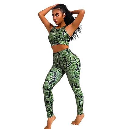 13d480551b30e Amazon.com: Womens 2 Piece Outfits Jogging Suits Snakeskin ...