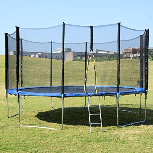Top 10 Best Oval Trampoline With Safety Enclosures Our Top: Top 10 Best Trampolines 15 Foot