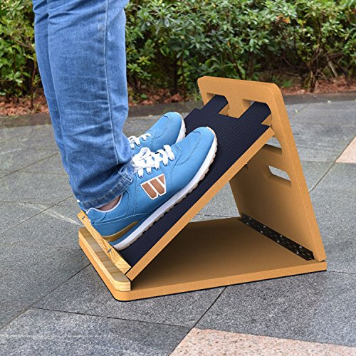 how to build a slant board to stretch calves