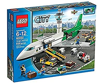 LEGO City 60022 Cargo Terminal Toy Building Set (Discontinued by manufacturer)