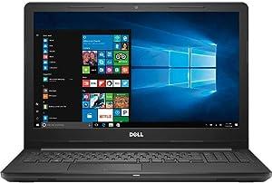 Dell Inspiron 15.6-inch HD Laptop PC, Intel Core i3-7130U 2.7GHz Processor, 8GB DDR4, 128GB SSD, Stereo Speakers, WiFi, Bluetooth, MaxxAudio, HDMI, No DVD, Intel HD Graphics 620, Windows 10 (Renewed)